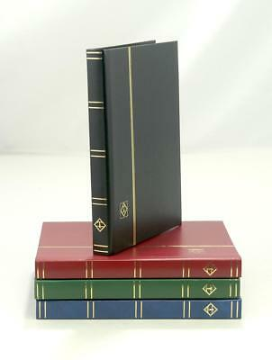 Lighthouse A4 Stamp Album Stockbook With 8 White Pages 16 Sides Hardback Cover