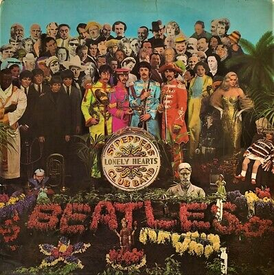 The Beatles ‎- Sgt. Pepper's Lonely Hearts Club Band (LP) (G+/G)