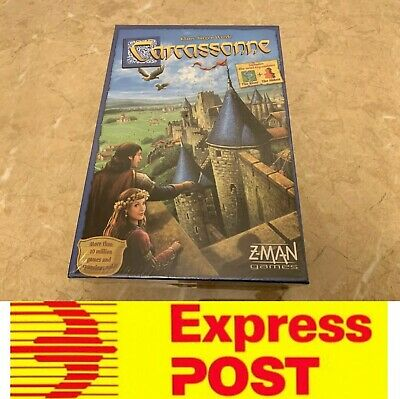 Carcassonne Board Game 2.0 New Edition, Family Game, AU Stock