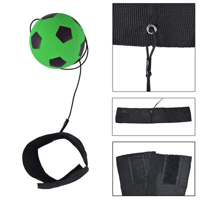 Football Kick Trainer Return Soccer Training Equipment Adjustable Waist Belt WO