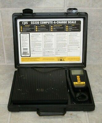 CPS CC220 Compute-A-Charge Refrigerant Charging Scale
