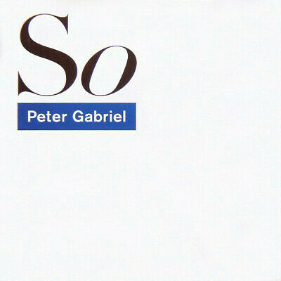Peter Gabriel - So 2xCD+2xDVD+2xVinyl Deluxe 25th Anniversary Edition NEU SEALED