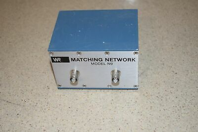 Wilcoxon Research Model N9 Matching Network
