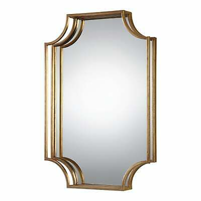 Uttermost Lindee Gold Wall Mirror - Antique Silver - Antique Silver 20x29.75x3