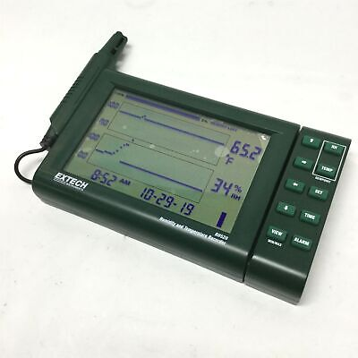 Extech RH520 Temperature & Humidity Paperless Chart Recorder Datalogger RS-232