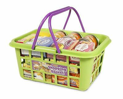 Shopping Basket By Casdon Bright And Colorful Ideal For Play Shopping