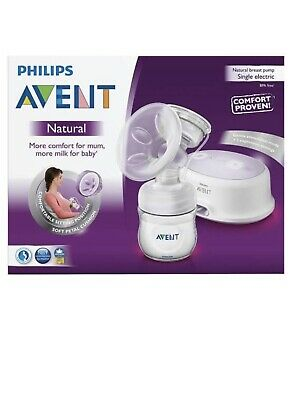 Brand New Philips Avent Natural Single Electric Breast Pump Breastpump