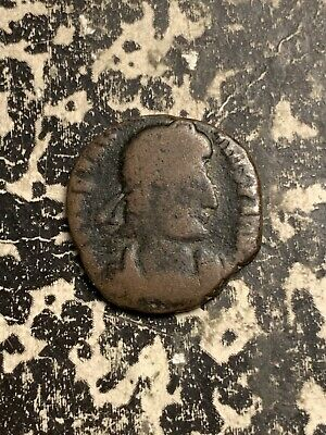 Unidentified Ancient Roman Rome Bronze Coin Lot#A677 You ID! ~15mm