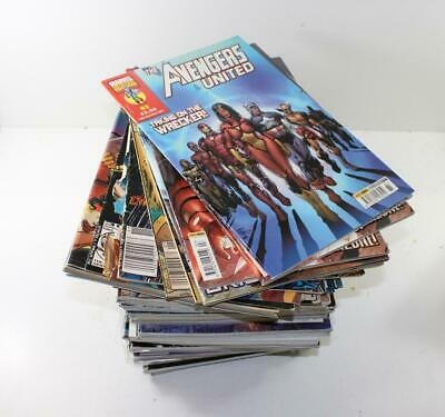 Approx 50 Mixed Marvel Comics of Spider-man & The Avengers FNQHobbys CM02