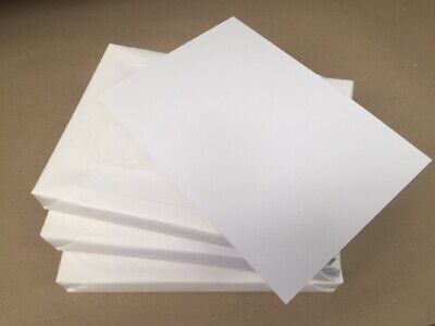 Bright White Card Stock Super Smooth A4 350gsm pack of 20