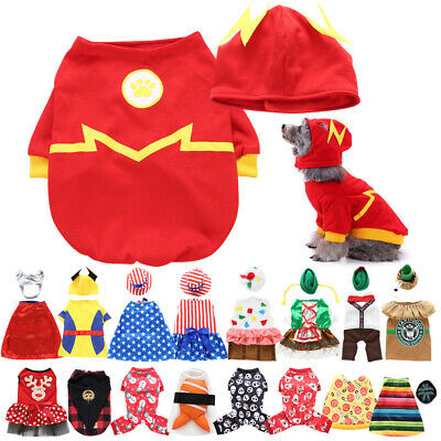 Fancy Clothing For Pet Dog Cat Costumes Party Cosplay Fancy Dress Clothes Outfit
