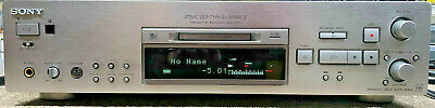 SONY MDS-JB940QS Minidisc Mini-Disc Recorder with remote SERVICED & WORKING