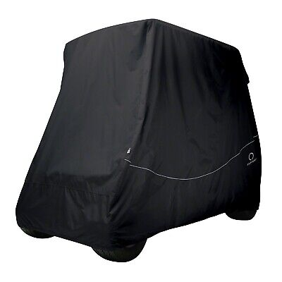 Classic Accessories Fairway 4 Persona Golf Cart Calzata Comoda Copertura | Nero