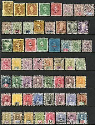 Sarawak Selection Of Stamps Mint Hinged Scott Value