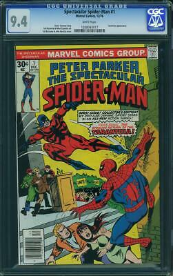 Peter Parker The Spectacular Spider Man  # 1 Us Marvel 1976   Nm+ 9.4 Cgc White