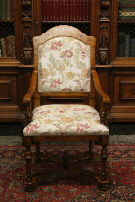 Fine Armchair Padded/Beautiful Quality/Period First half of 900