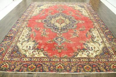Traditional Antique 100% Wool Handmade Rugs Oriental Carpets 358 X 272 CM