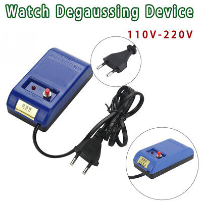 Demagnetizer Watch Repair Screwdriver Tweezers Electrical Watch Time Adjustment
