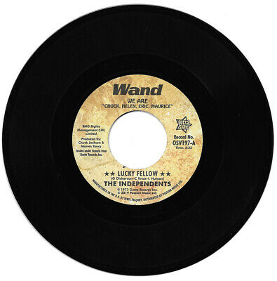 The Independents Lucky Fellow / I Love You Yes I Do Northern Soul