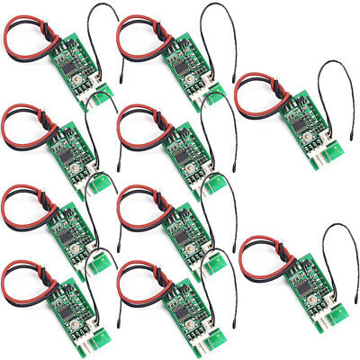 10Pcs PWM 4-Wire Fan Temperature Controller Speed Governor for PC Fan/Alarm Lot