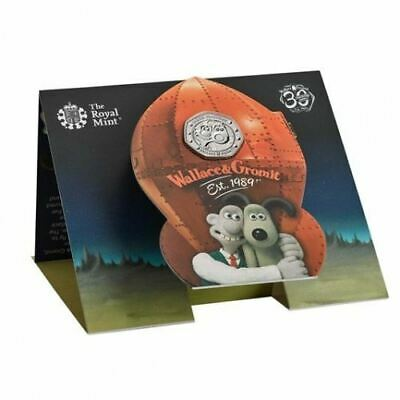 Wallace and Gromit 2019 UK 50p Brilliant Uncirculated Coin