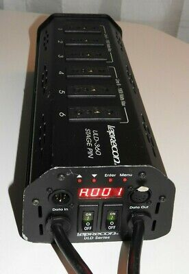 Leprecon Uld-360 Hp Stage Pin Tree Mount Dimmer 6 Channel Uld360 Leprechaun