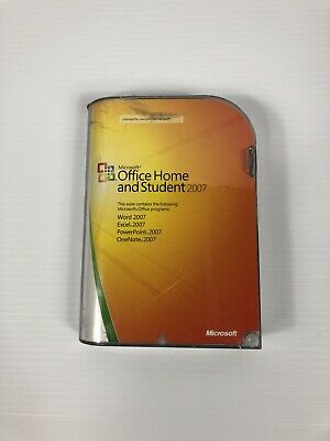 Microsoft Office 2007 Home and Student Full Version Access Excel - 5425018691005