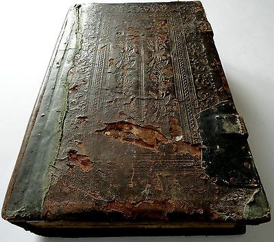 ZLATOUST Old Believers 3.3kg RUSSIAN Orthodox Church RUSSIA antique wood leather