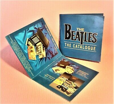 The Beatles The Catalogue Booklet CD sized Studio albums