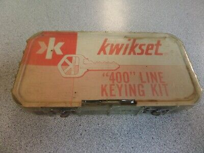 Kwikset 271 400 Series Original Lock Pinning & Service Kit Used