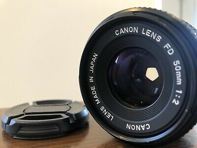 *Exc+5* Canon New FD 50mm f/2 MF Prime Lens NFD FD/FL Mount From JAPAN #M-160-2