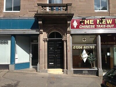 FOR SALE - Whole building Investment Portfolio - 4 Flats & 2 Shops Brechin Angus