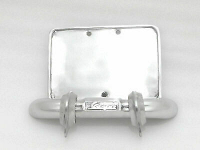 New Alloy Number Plate Holder And Rear Bumper For Vespa