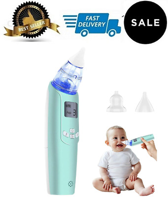 Baby Nasal Aspirator - Electric Nose Suction for Baby - Automatic Booger Sucker
