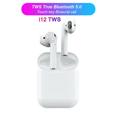 Original i12 TWS touche tactile Mini sans fil écouteur Bluetooth 5.0 casque