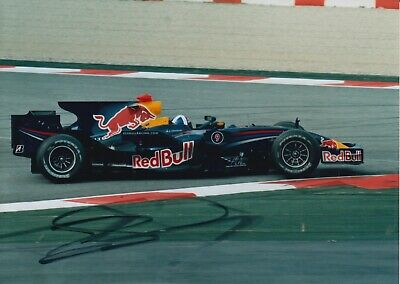 David Coulthard Hand Signed 7x5 Photo - F1 - Formula 1 Autograph.