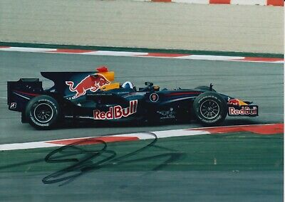 David Coulthard Hand Signed 7x5 Photo - F1 - Formula 1 Autograph 1.
