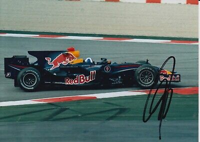 David Coulthard Hand Signed 7x5 Photo - F1 - Formula 1 Autograph 2.