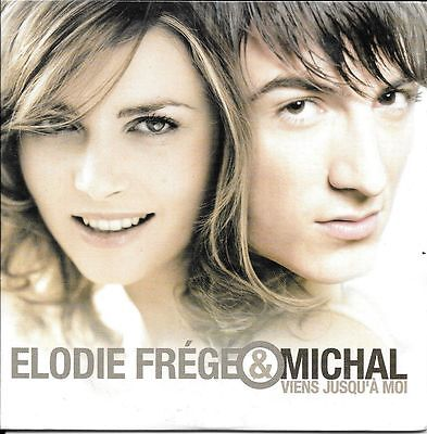Cd Single Promo--Elodie Frege & Michal--Viens Juesqu' A Moi--2004