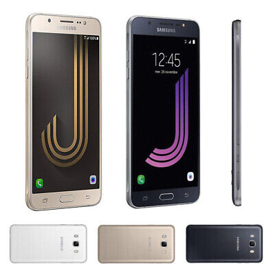 Factory Unlocked SAMSUNG Galaxy J7 J710F Black Gold White Dual SIM Android Phone
