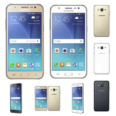 UK Unlocked SAMSUNG Galaxy J5 J500F Black White Gold Dual SIM Android Phone HOT!
