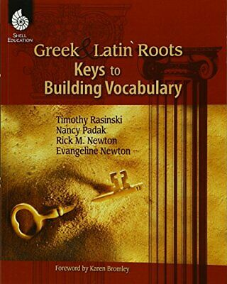 NEW - Greek and Latin Roots - Keys to Building Vocabulary