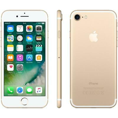 Apple Iphone 7 128GB Gold Oro Nuovo Grado A++TOP Sigillato box e accessori