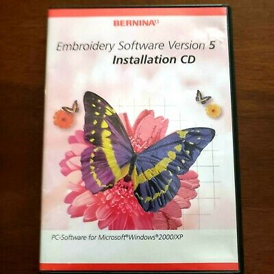 Bernina Embroidery Software 5 Installation Replacement  2 CDS No Dongle