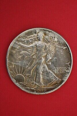 1945 P Walking Liberty Half Dollar Exact Coin Pictured Flat Rate Shipping OCE 11