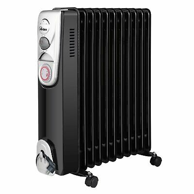 Ardes  AR4R11BT stufetta elettrica Oil electric space heater Interno Nero, Bianc