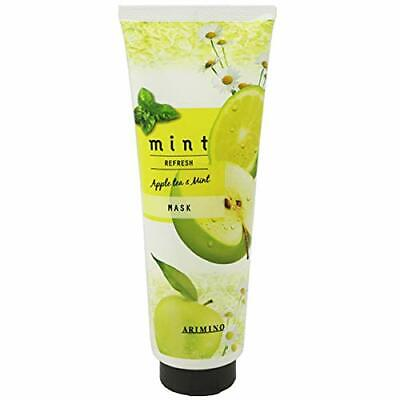 Arimino Mint Hair mask refresh 200 g Perfect for summer Made in Japan F/S