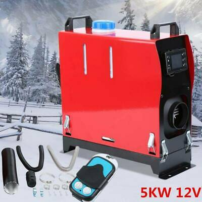 12V 5KW 5000W Diesel Air Heater Remote Control LCD Display For Truck Motorhome