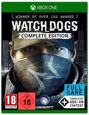 Xbox One Game Watchdogs 1 Watch Dogs Complete Edition Incl. Aller Dlc ´S New
