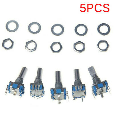 Replacement Rotary Encoder Push Module 5pcs Switch Digital Potentiometer